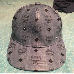 "100% Authentic MCM Leather hat"" unisex"